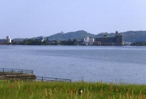 倉吉市の風景