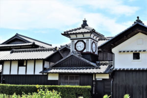 安芸市のシンボル 野良時計