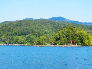 夏の野尻湖
