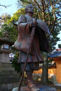 松尾芭蕉像