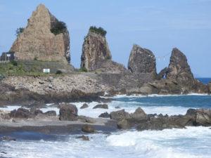 室戸岬の夫婦岩