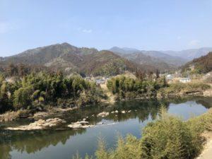 本山町の自然風景