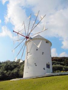 小豆島町 オリーブ公園の風車