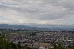 天童市の風景