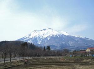 岩木山の風景 弘前市