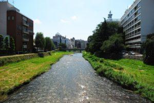北上川の流れ