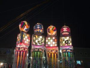 三沢市の七夕祭り