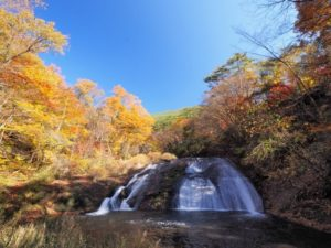花巻市 釜淵の滝