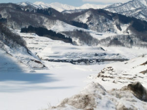 寒河江ダム 西川町