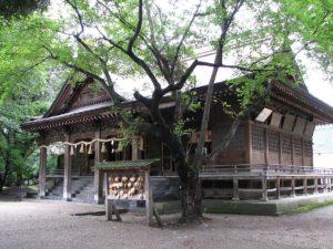 猿賀神社拝殿 平川市
