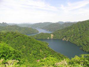 田子倉湖 只見町