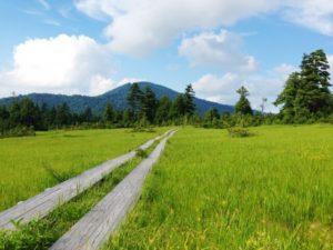 檜枝岐村の自然風景