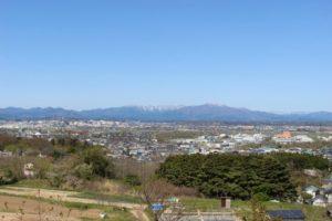 秋田市街の風景