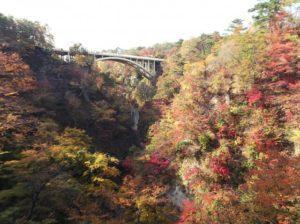 大崎市 鳴子峡の紅葉