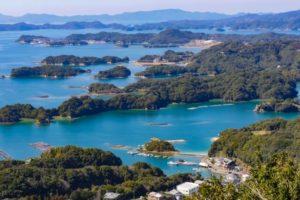 九十九島の風景