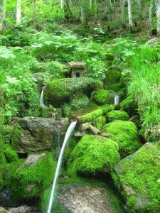 冷湖の霊泉 昭和村