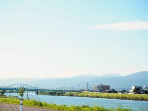久留米市の自然風景