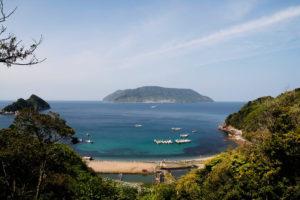 上関町 田ノ浦と祝島