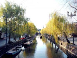 柳川の風景