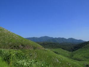 秋吉台の風景 美祢市