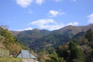 椎葉村の自然風景
