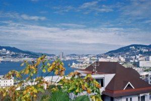 長崎港の風景
