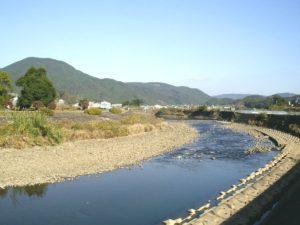 佐々川の流れ