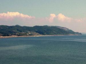 薩摩英国留学生記念館から望む海原