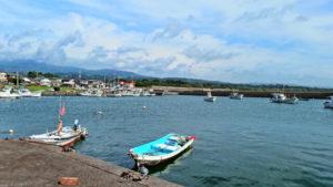 都農町 港の風景