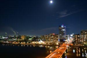 新潟市夜景