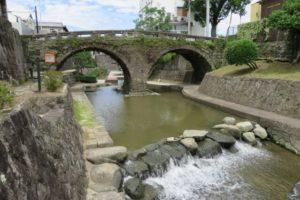 高瀬裏川の眼鏡橋