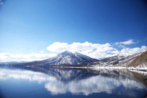 最北の不凍湖 支笏湖
