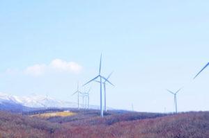 伊達市の風車