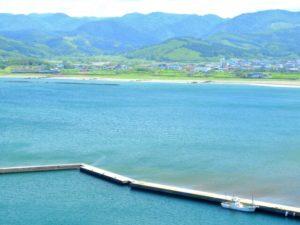 上ノ国町 日本海海岸の風景