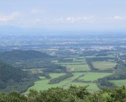 日勝峠からの眺め