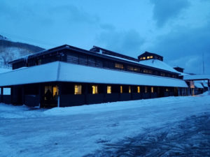 冬の鰊番屋