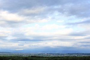 鷹栖町の風景